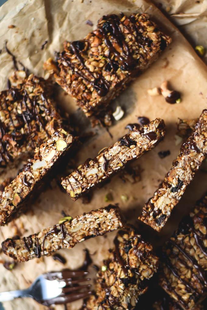 Tiki Bars! Nutty Tropical Fruit Granola Bars (Vegan + GF) (6)