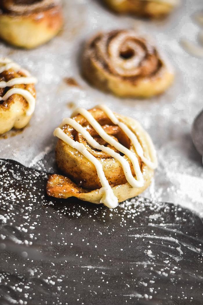 easy mini cinnamon rolls
