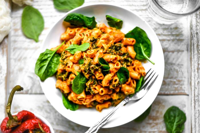 vegan mac and cheese nutritional yeast