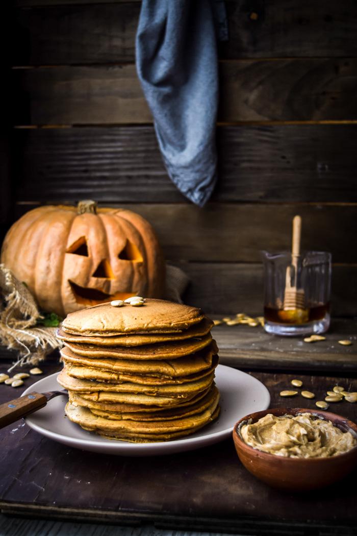 the best pumpkin pancakes gluten free and vegan