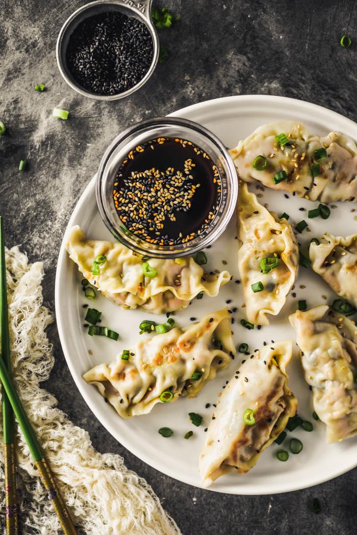 vegan gyoza recipe tofu