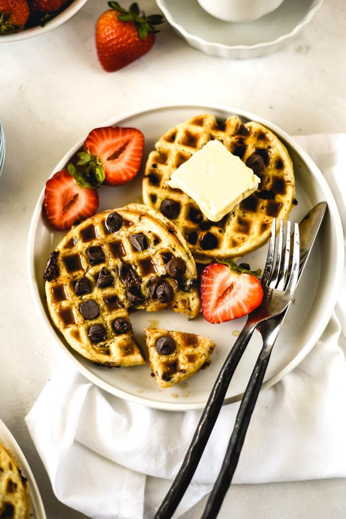 vegan waffles tasty
