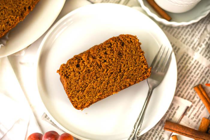 super moist vegan pumpkin bread