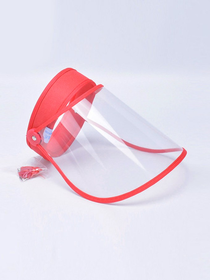 Talk to Me Face Shield-Red 1