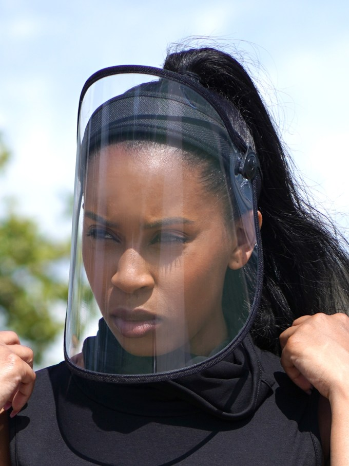 Talk to Me Face Shield-Black 2 2