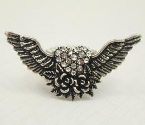 RG-14-41-FW_A - Angel Wings Rose Hearts $30