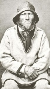 A Sea Sami Man from Norway