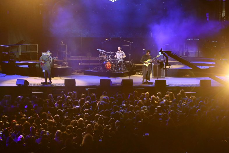 ANAHEIM, CALIFORNIA - JANUARY 16: Animals as Leaders performs at The 2020 NAMM Show Opening Day on January 16, 2020 in Anaheim, California. (Photo by Jesse Grant/Getty Images for NAMM)