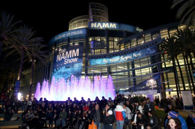 ANAHEIM, CALIFORNIA - JANUARY 17: Guests attend The 2020 NAMM Show on January 17, 2020 in Anaheim, California. (Photo by Jesse Grant/Getty Images for NAMM)