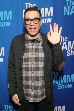 ANAHEIM, CALIFORNIA - JANUARY 18: Fred Armisen attends The 2020 NAMM Show on January 18, 2020 in Anaheim, California. (Photo by Jesse Grant/Getty Images for NAMM)