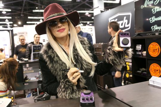 ANAHEIM, CALIFORNIA - JANUARY 18: Orianthi attends The 2020 NAMM Show on January 18, 2020 in Anaheim, California. (Photo by Jesse Grant/Getty Images for NAMM)