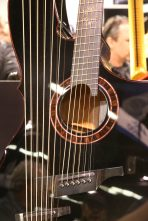 ANAHEIM, CALIFORNIA - JANUARY 18: Guitars on display at The 2020 NAMM Show on January 18, 2020 in Anaheim, California. (Photo by Jesse Grant/Getty Images for NAMM)
