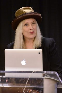 ANAHEIM, CALIFORNIA - JANUARY 18: Sylvia Massy speaks at The 2020 NAMM Show on January 18, 2020 in Anaheim, California. (Photo by Jerod Harris/Getty Images for NAMM)