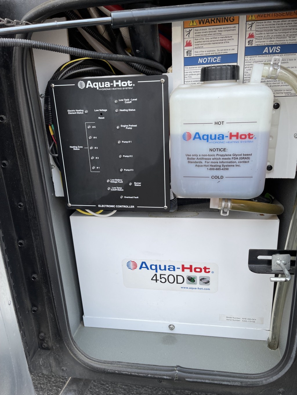 Aqua-Hot compartment