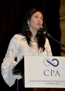 CPA Zulmarie Urrutia-Vélez, presidenta del Colegio de CPA