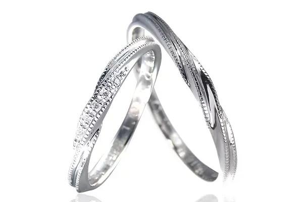 ミルグレイン結婚指輪