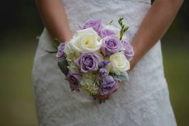 Round bouquet (photo by Legault Photography)