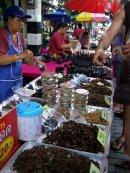 Consejos sobre Tailandia - Insectos fritos