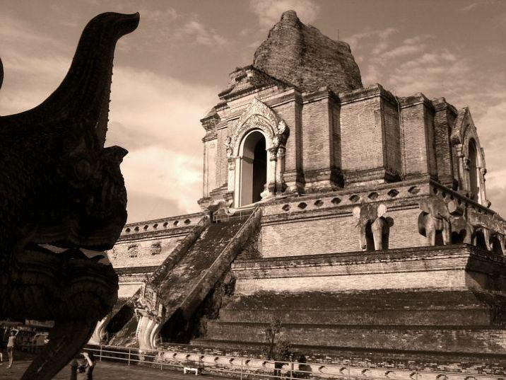 Templo Chiang Mai - Wat Chedi Luang
