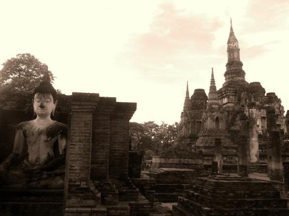 71c - Un día en las Ruinas de Sukhothai, la antigua capital de Tailandia