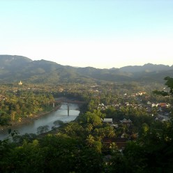 Tips and Curiosities about Laos - Luang Prabang - Mirador Monte Phou Si
