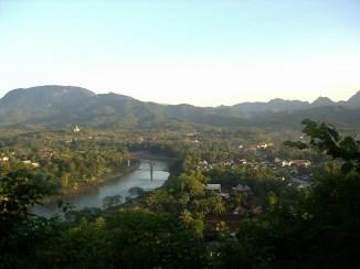 Laos Luang Prabang Mirador Monte Phou Si - Top 8 Consejos y Curiosidades sobre Laos
