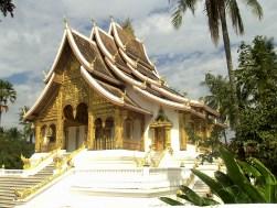 Laos - Luang Prabang - Templo Haw Pha Bang