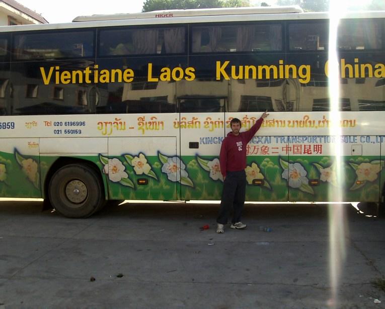 Laos Vientiane Autobús Vientiane Kunming - Vientiane, what to see in the capital of Laos?
