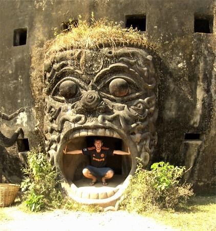 Laos Vientiane Visitando el Parque de Buda - Vientiane, what to see in the capital of Laos?