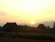 Luang Namtha - Anochecer Muang Sing