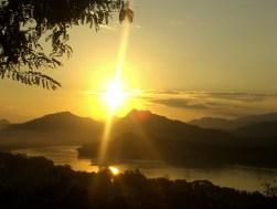 Laos - Anochecer Mekong