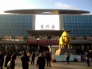 Estación de tren de Kunming