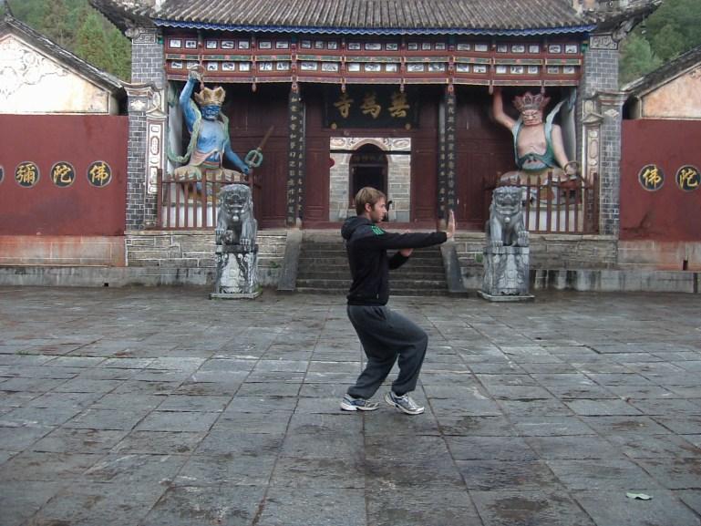 Aprendiendo Kong Fu en China