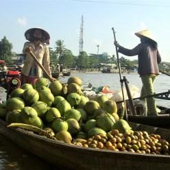 Vietnam - Delta del Mekong - Casas flotantes