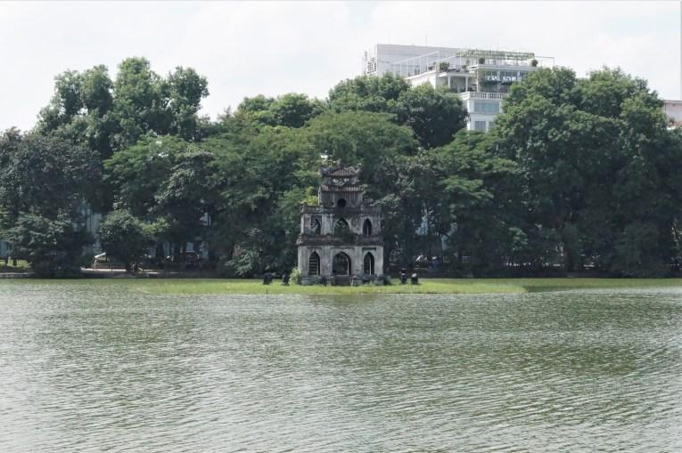 Vietnam Hanoi Torre de la Tortuga - Barrio antiguo de Hanoi: Top 5 lugares que visitar