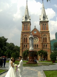 Ho Chi Minh City Notre Dame Cathedral - Top South Vietnam: The best places to visit