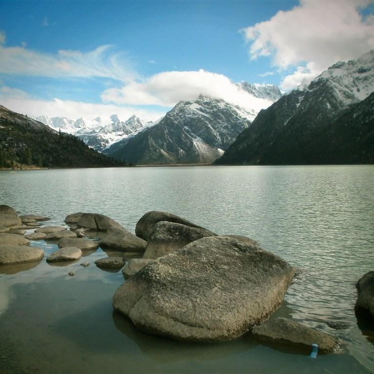 Sichuan Lago Xinlu - Viaje a Sichuan, ruta por el lado tibetano