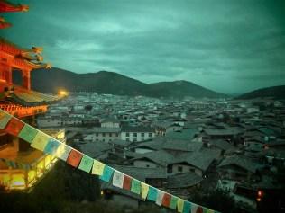 Yunnan Shangrila parte antigua - Viaje a Sichuan, ruta en coche por el lado tibetano