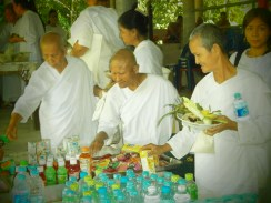 Meditación Vipassana en Tailandia - Monjas