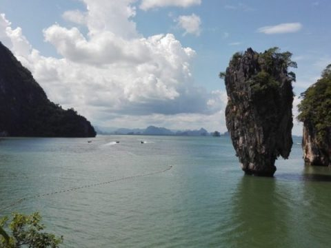 Thailand - Beaches of Phuket - James Bond Island