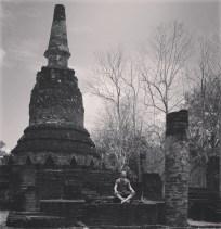 Tailandia profunda - Parque Histórico de Kamphaeng Phet
