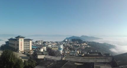 Viaje en bicicleta - Vistas Hotel Xinjie (Yunnan)