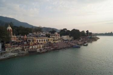 India - Anochecer Rishikesh