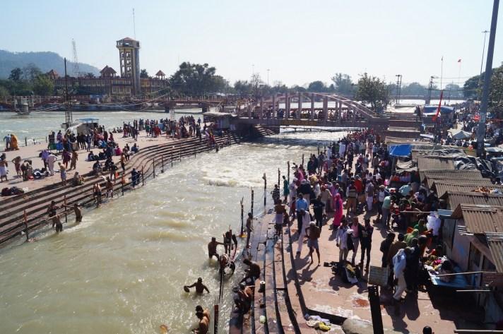 Haridwar - Gaths Río Ganges