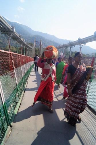 Puente colgante Ram Jhula