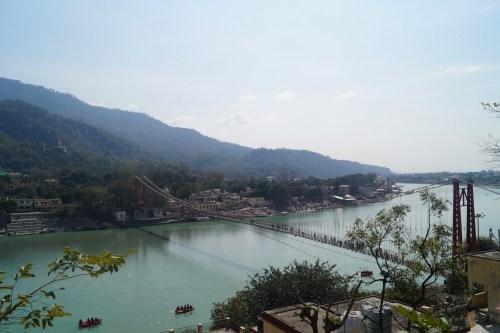 Viaja a Rishikesh - Vistas desde Tapovan