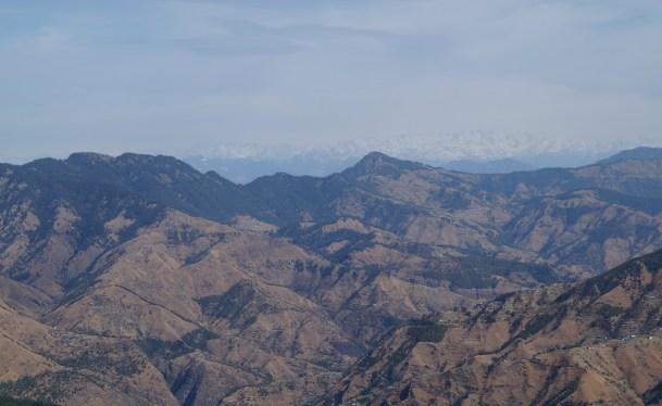 Shimla Cordillera Himalaya 03 500x307 - Shimla, lugares de interés: ciudad colonial al lado del Himalaya