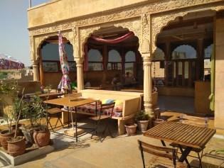 Jaisalmer y el desierto del Thar - Hotel Pol Haveli Rooftop