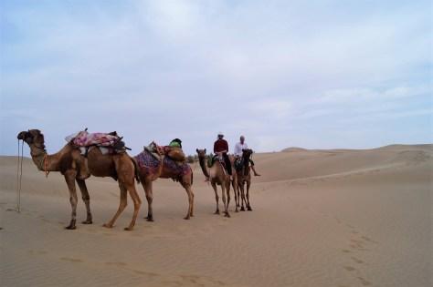 Llegada a las dunas