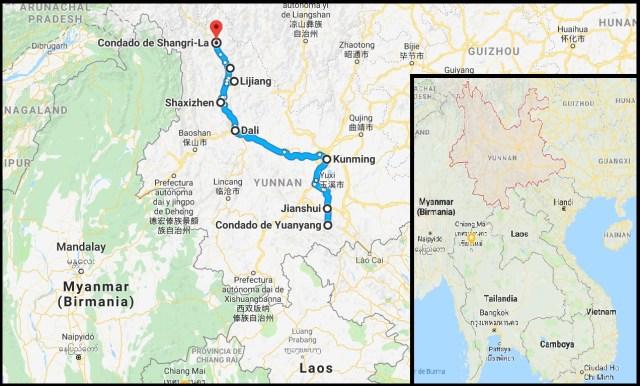 Ruta por Yunnan 500x302 - Viaje organizado a Yunnan: 12 días en China con chófer y guía